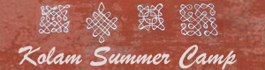 Summer Camp in Kolam drawing