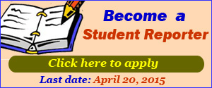 Student Reporter Programme 2015-16