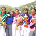 Surprises mark the sports day at St. Ursula's