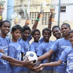 Team India for  Street Child  World Cup in Brazil