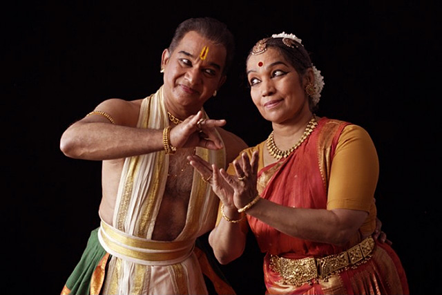 Veteran Bharatanatyam artistes perform in school for SPIC MACAY