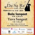 Navarathri Music Festival for young artistes