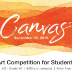 Painting Competition Canvas 2018 – Sep. 30, 2018