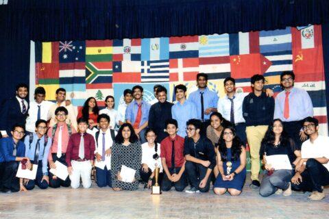 Intense debate at the Sishya Model United Nations