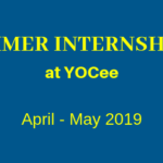 Summer Internship at YOCee