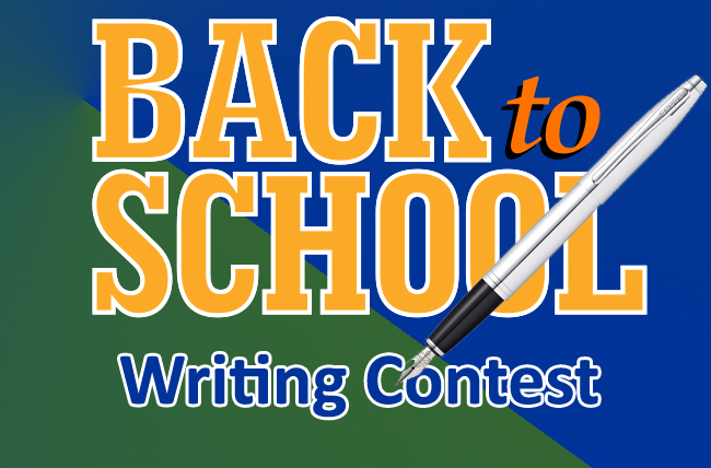 back to school writing contest