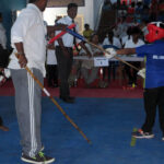 Display of young talents at Silambam Championship