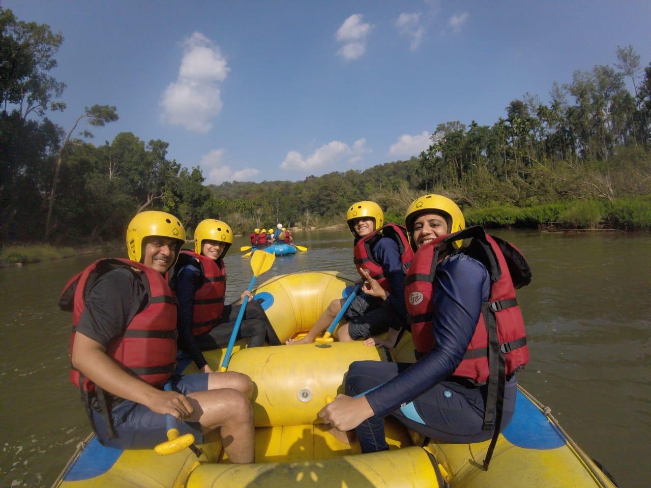 rafting in bhadra