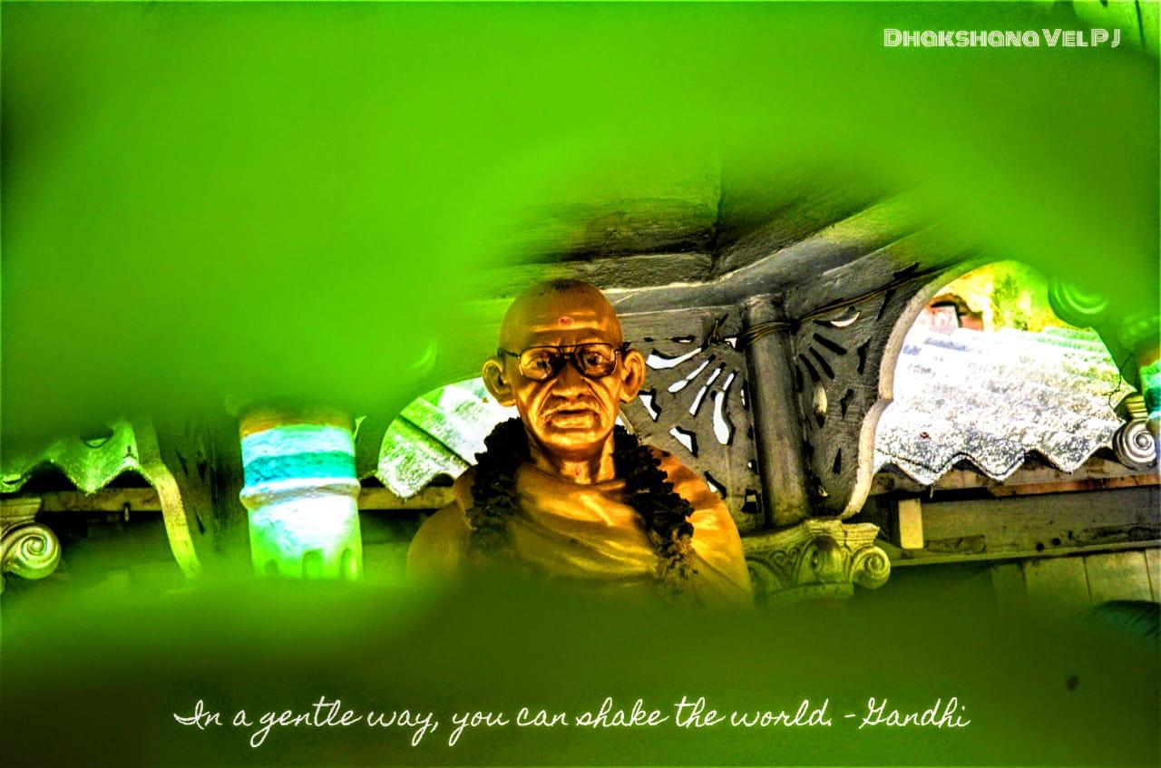 Gandhi by Dhakshana Vel