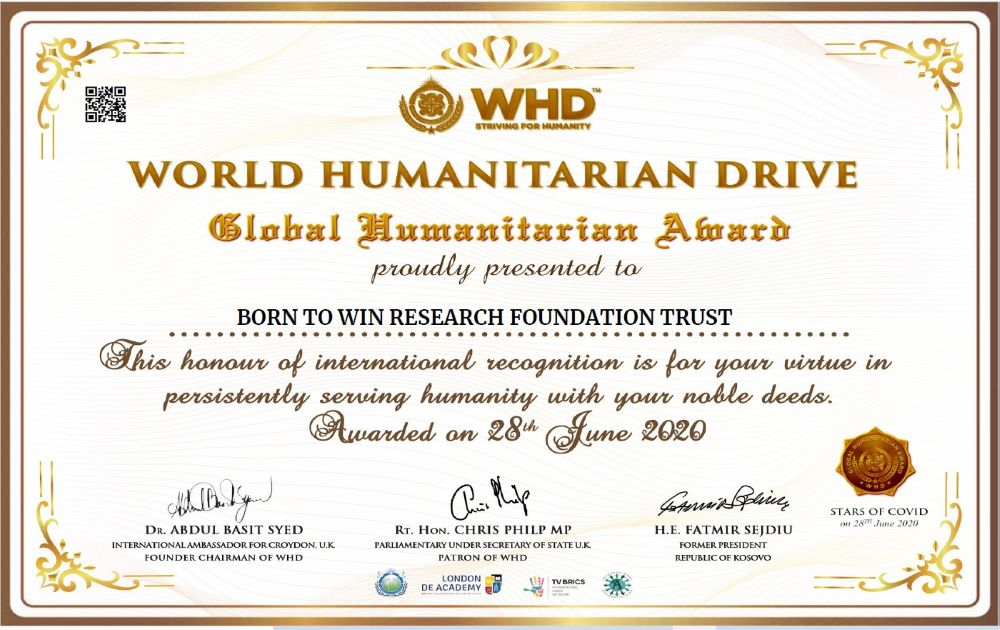 WHD Certificate
