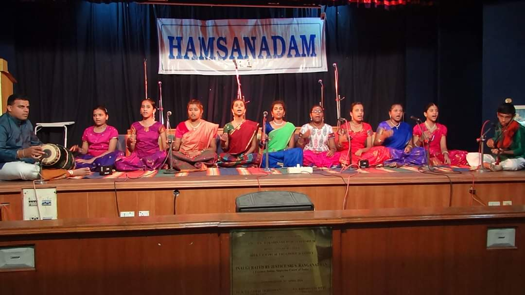 Hamsanadam Music School Performance