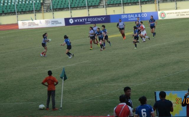 Womens Rugby Guam Vs South Korea