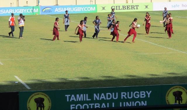 Chennai girls Rugby