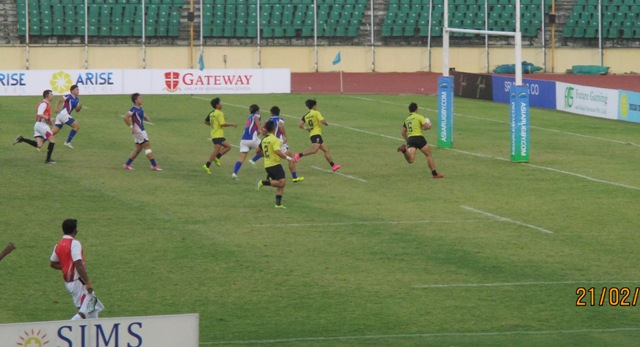 Thailand China Rugby