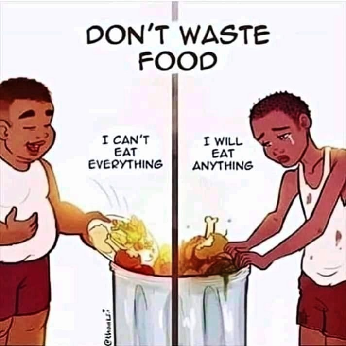 food waste and shortage