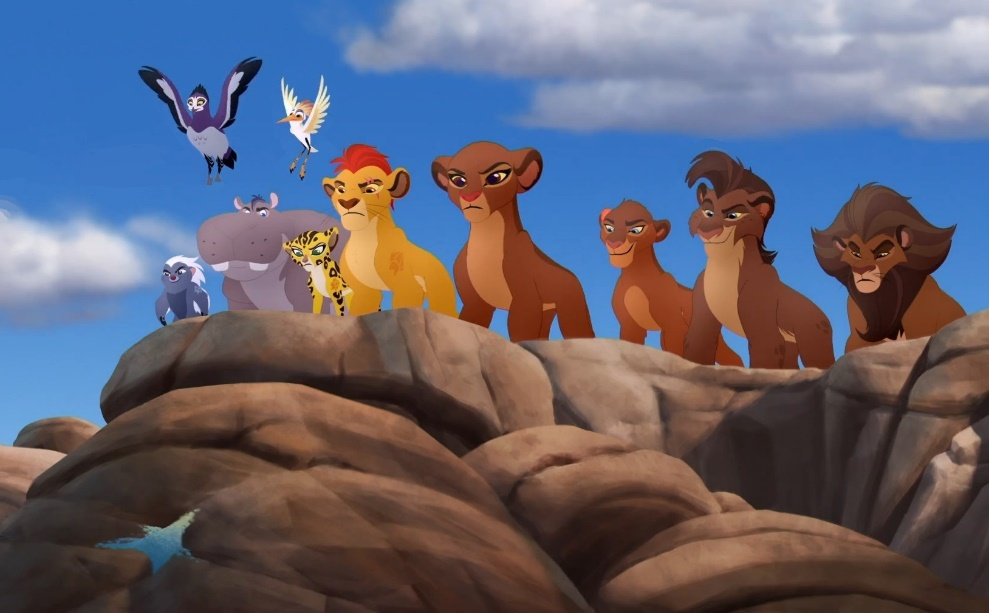 Lion Guard characters