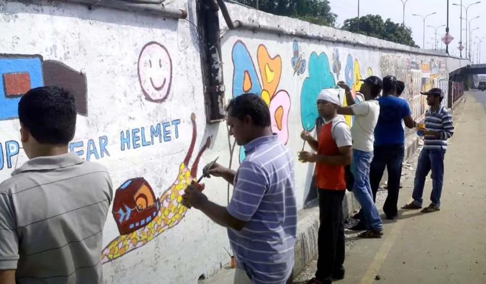 Sunil Jayaram and team at work