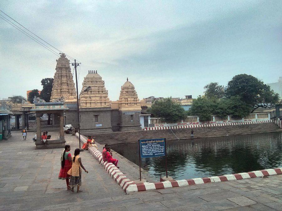 Kacchapeswarar temple Kanchipuram