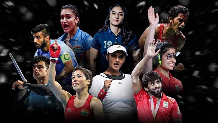 Indian Olympics stars 2021